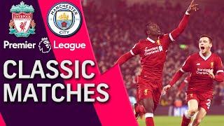 Liverpool v. Man City | PREMIER LEAGUE CLASSIC MATCH | 1/14/18 | NBC Sports
