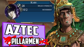 Montezumas Bizarre Adventure - Introducing Kars - Civ 6 Deity Aztec Vampires Ep. 1