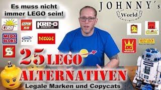 25 Lego ®  Alternativen - legale sowie moralisch zweifelhafte!