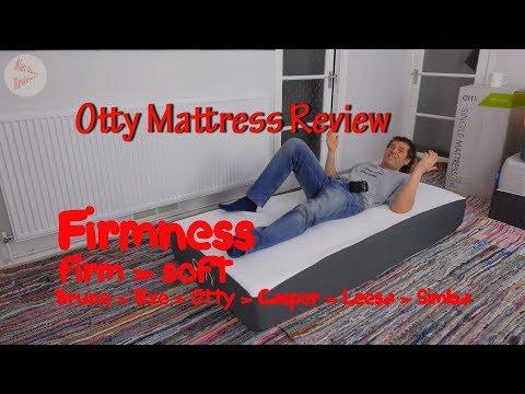 Otty Mattress Review 2018 – UK Gel Memory Foam Mattress with 2000 Pocket Springs