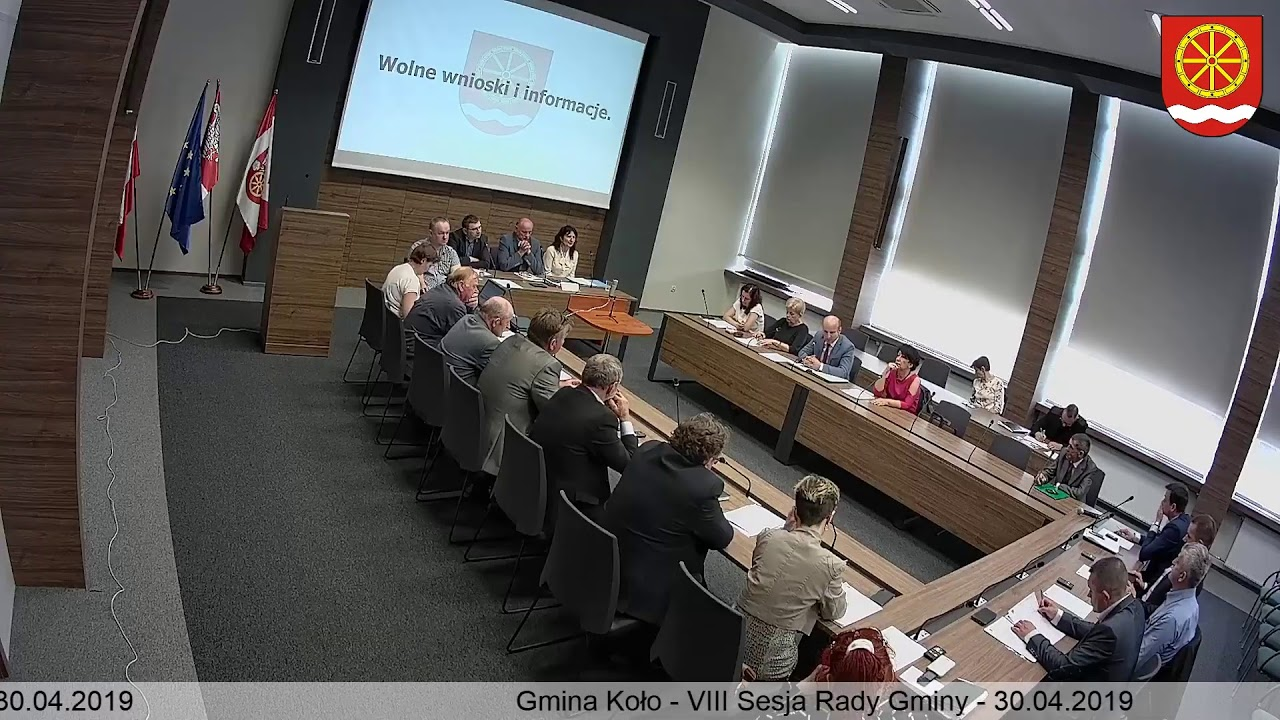 Zdjęcie do IX Sesja Rady Gminy Koło