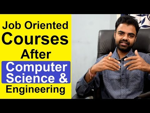 Best Job Oriented Courses After/for Computer Science and ...