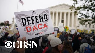 """Supreme Court hears arguments on """"Dreamers"""" in DACA case"""