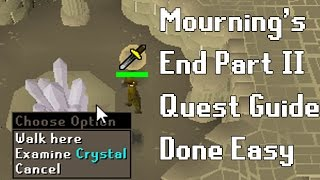 OSRS Mournings End Part 2 Quest Guide - Quest Guides Done Easy - Framed