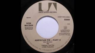 Gambar cover Don McLean - American Pie (single mix) (1971)