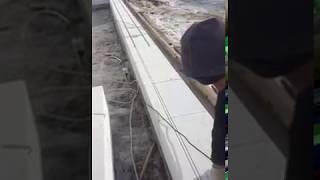 Армирование стены из газобетона