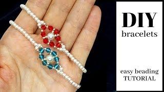 Beaded Bracelets.  DIY Beaded Bracelets Tutorials For Beginners