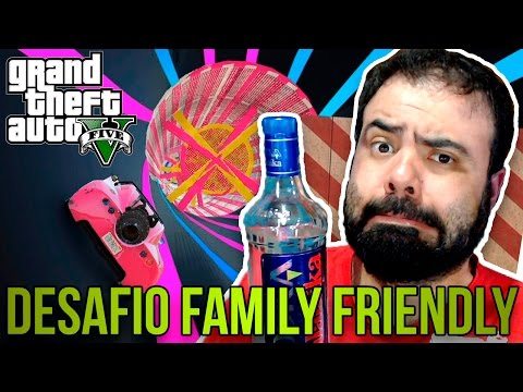 GTA DOS PIRATAS – DESAFIO DA CACHAÇA FAMILY FRIENDLY