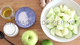 Gazpacho de manzana, pepino y yogur TVE