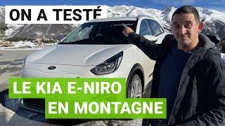 Le Kia e-Niro à l'assaut d'une station de ski !