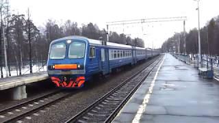 2012.04.13 - Электричка ЭД4М 0299 на Москву
