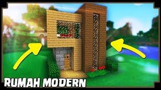 Cara Membuat Rumah Survival Pertama Di Minecraft