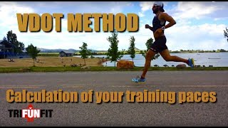 Calculation of your training paces - VDOT METHOD