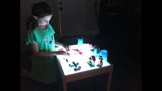 How To Make A DIY Light Table - Your Kids Will Love It!