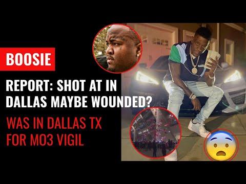 Boosie van shot multiple times in Dallas Texas at Mo3 vigil