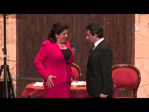 Le Bouffon du président au Théâtre des Variétés : extrait de la pièce