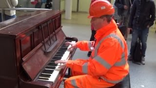 Workman Stuns Audience With His Piano Skills