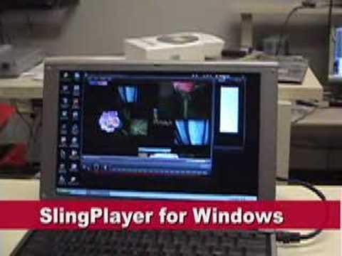 SlingMedia Shows Off Apple TV