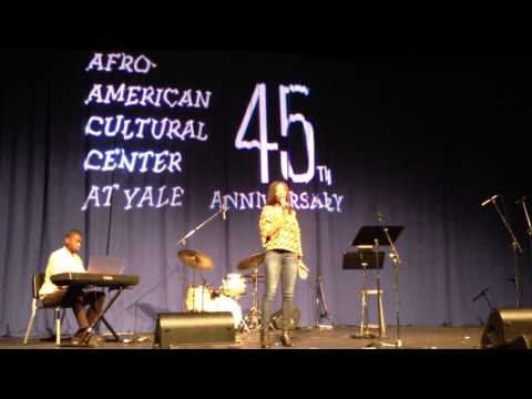 "Nnenna Ukwu Covers ""Stranger"" By Kaline - Afro-American Cultural Center At Yale 45th Anniversary"