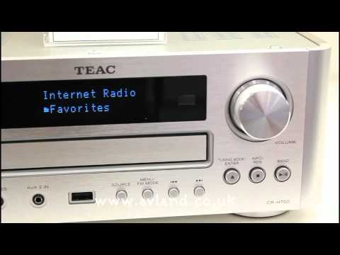 Teac CR-H700 First Look IFA Berling 2011 by AVLAND UK (NO AUDIO)