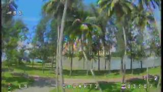 #FPV #Freestyle Losing orientation on a noisy video signal is the last thing you'd want :(
