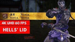 FFXIV STORMBLOOD: Hells' Lid - NINJA GAMEPLAY 99 [4K/60FPS]