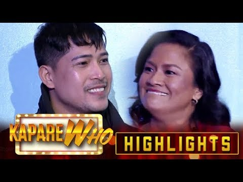 Happy Go Lady breaks into her smile as she finally sees Goon And Roses   It's Showtime KapareWho