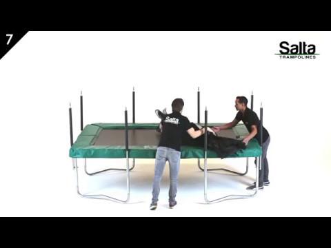 Salta Combo trampoline rechthoek