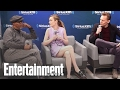Samuel L. Jackson, Tom Hiddleston & Brie Larson Dish On 'Kong: Skull Island' | Entertainment Weekly