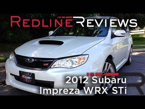 2012 Subaru Impreza WRX STi Review & Test Drive