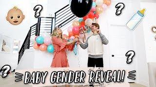 OFFICIAL BABY GENDER REVEAL! 👶🏼  Aspyn + Parker