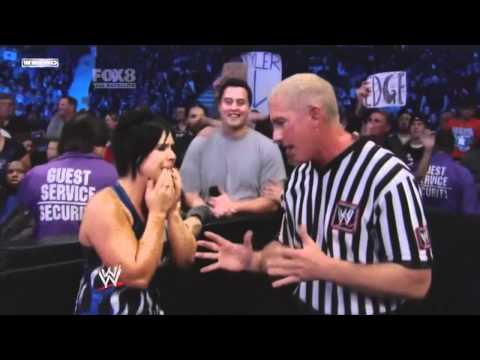 WWE Smackdown 25-02-2011 Edge & Kelly Kelly vs. Drew Mcintyre & Vickie Guererro for her job