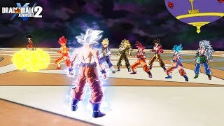 Mastered UI Goku vs All Goku