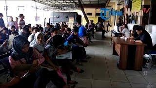 Suasana Pengurusan SKCK di Mapolrestabes Medan