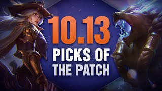 10 New OP Picks and Builds of the Patch in 10.13 for Solo Queue