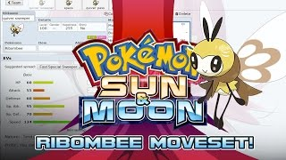 Ribombee  - (Pokémon) - Ribombee Moveset Guide! How to use Ribombee! Pokemon Sun and Moon! w/ PokeaimMD!