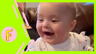 Now thats Cute 😍  | Cute Baby Funny Moments | 2021