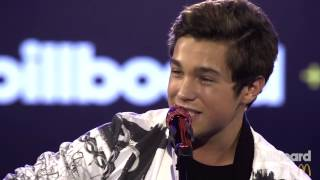 "Austin Mahone - ""MMM Yeah"" LIVE at the Real-Time Charts Launch Event"