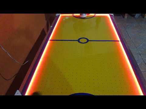 Mesa Air Hockey Caseira .