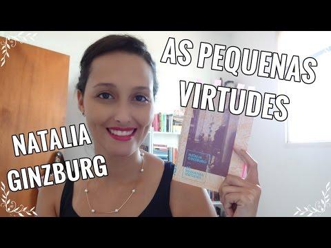 As Pequenas Virtudes (Natalia Ginzburg)