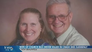 Wife of church bus driver killed in crash dies days after his death