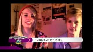 Tattered N Torn 2012 Webcast Pre-Interview with Angel At My Table