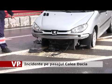 Incidente pe pasajul Calea Dacia