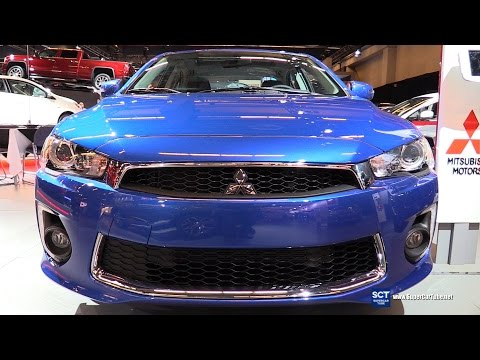 2016 Mitsubishi Lancer - Exterior and Interior Walkaround - 2016 Montreal Auto Show