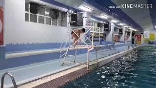 preview picture of video 'Swim training by aram tarageh       آموزش شنای کودکان زیر6 سال توسط آرام طرغه در بوکان'