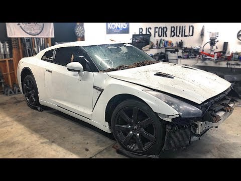 Getting Into My Totaled Salvaged GTR - Will It Start?