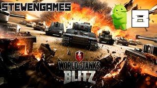 Прохождение игры World Of Tanks Blitz (Android) #8 Новый Танк!!!