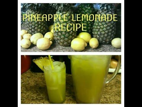 Pineapple Lemonade Recipe..