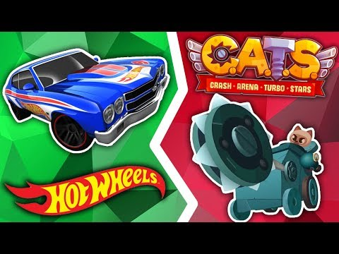 Download Video Hot Wheels + CATS: Crash Arena Turbo Stars
