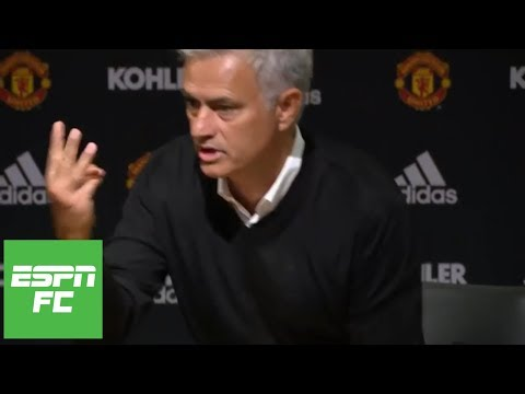Jose Mourinho walks out of press conference after Man United 3-0 loss to Tottenham | ESPN FC
